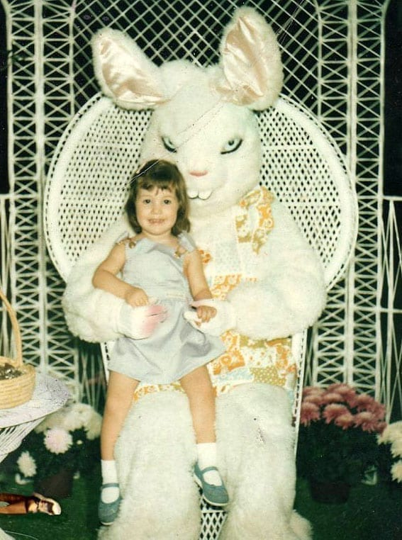 creepy easter bunny