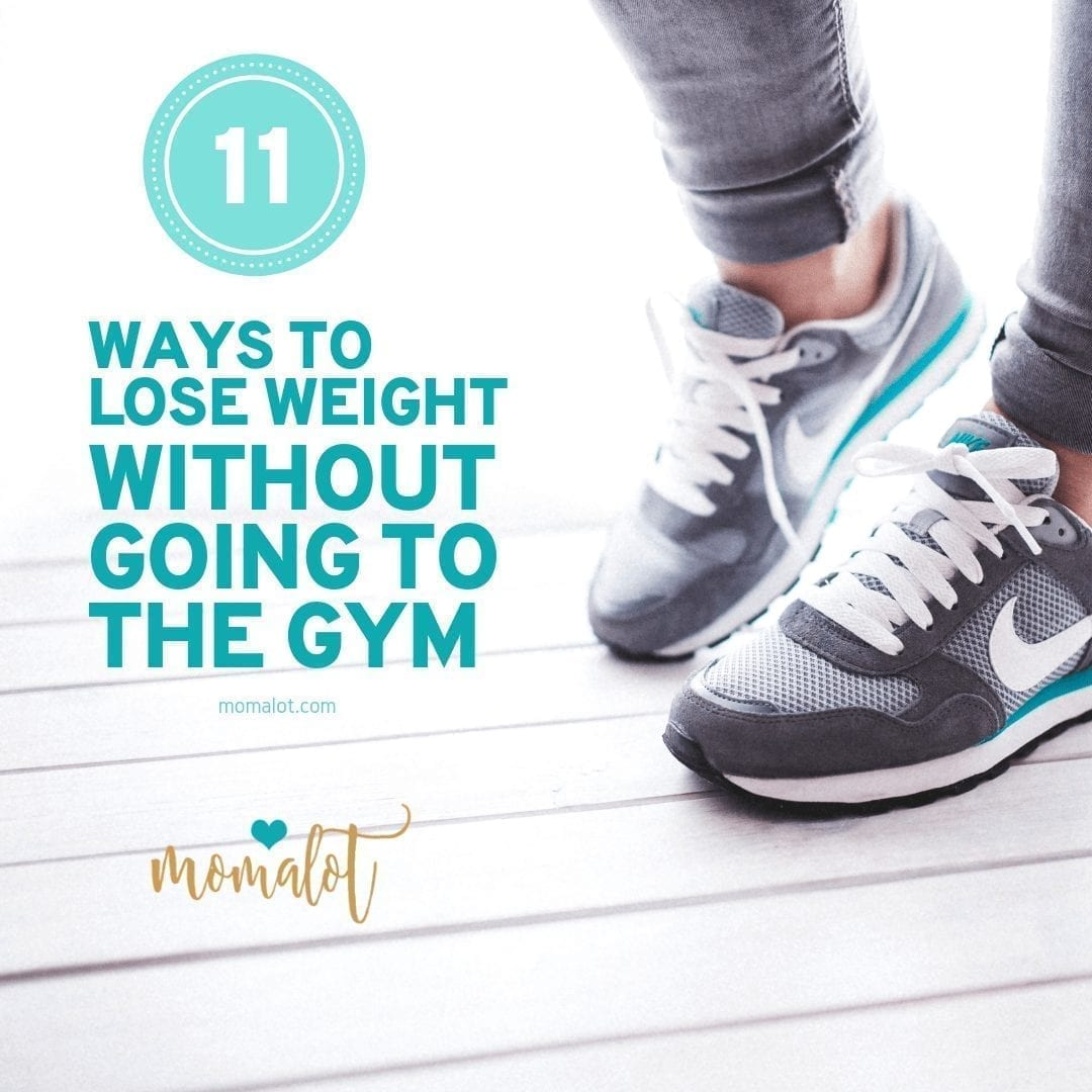 11 ways to lose weight without going to the gym-min