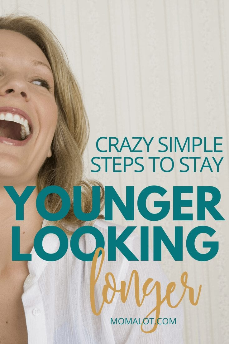 Crazy Simple Steps to Stay Younger Looking Longer - woman laughing