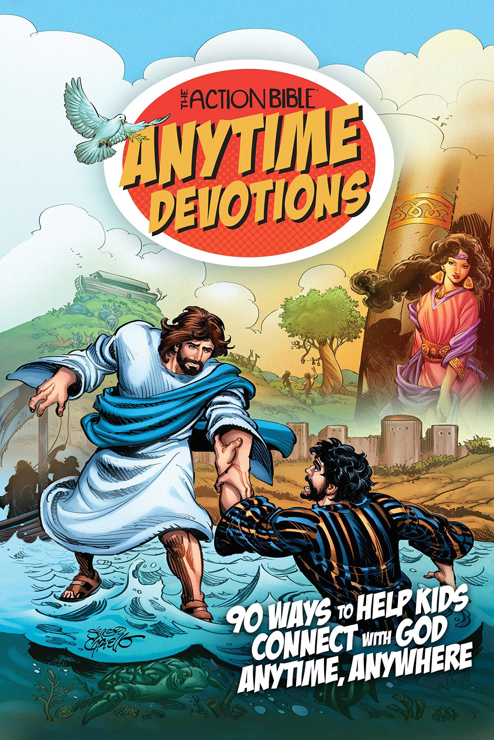Action Bible Anytime Devotions for Kids