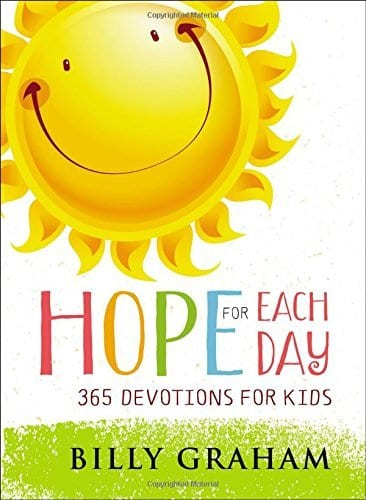 Hope for Every Day Billy Graham 365 devotions for kids