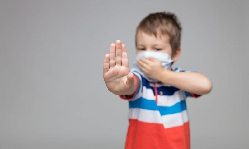 young-child-wearing-a-respiratory-mask