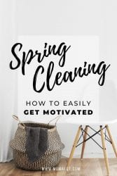 Spring Cleaning Motivation